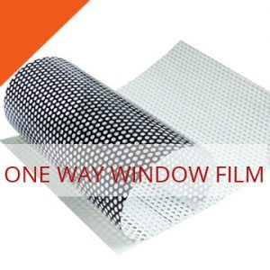 one way window film